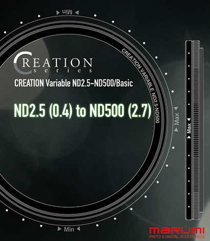 Creation  Variable ND2.5-ND500/Basic