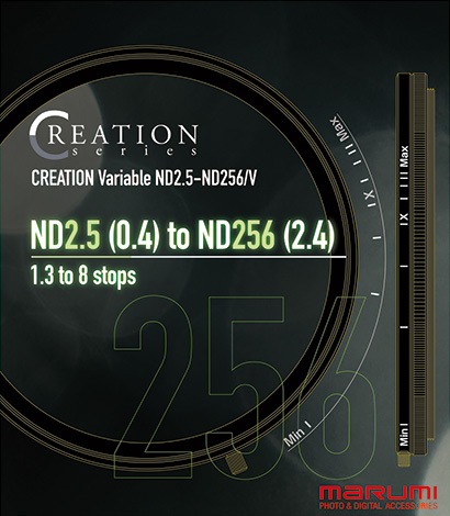 Creation Variable ND2.5-ND256/V
