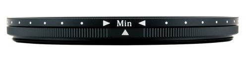 Min側:ND2.5相当の減光効果