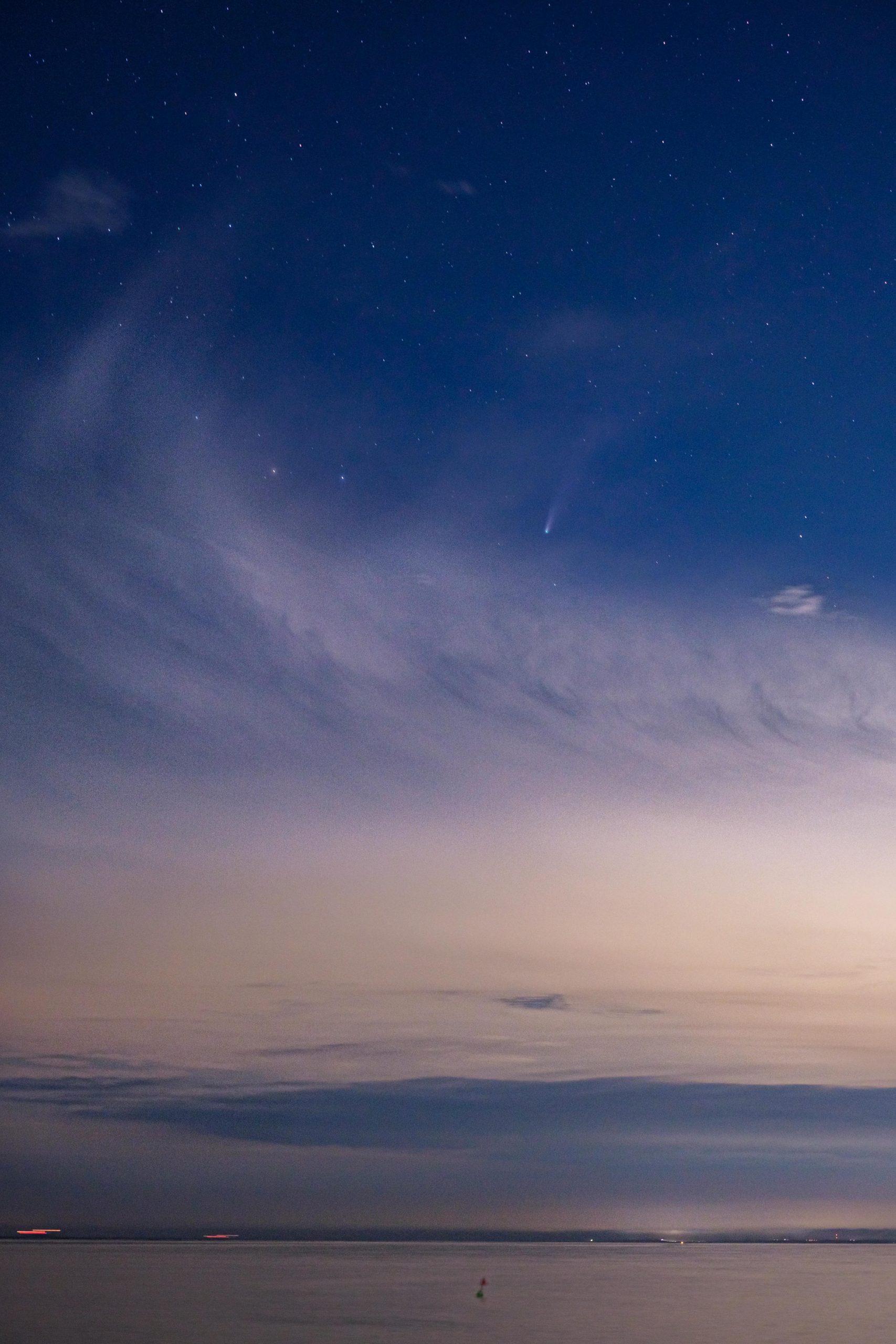 StarScapeを使ってネオワイズ彗星を撮ってみた。